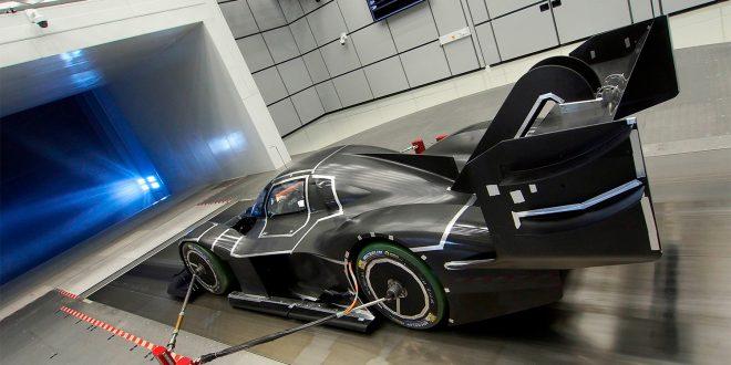 Den elektriske superbilen til Volkswagen har deler som er skrevet ut av 3S-printer. (Begge foto: Volkswagen)