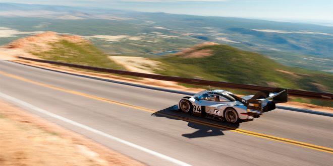 Nå kan vi se rekordløpet til I.D. R Pikes Peak fra lufta. (Foto: VW)