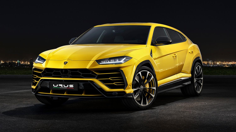 Urus er en sportslig SUV som gjør 0-100 km/t på kun 3,6 sekunder. (Foto: Lamborghini)