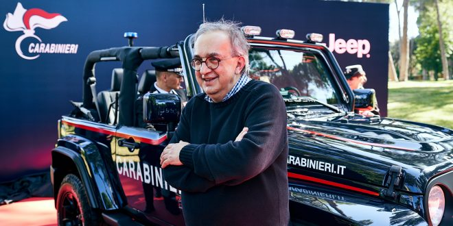 Dette er slik vi husker Sergio Marchionne, alltid med et smil på lur. (Foto: Fiat)