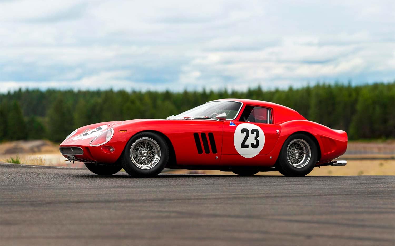 Slik ser verdens dyreste bil ut. (Foto: RM Sotheby's)
