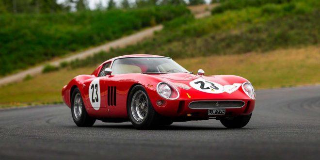 Den tredje Ferrari 250 GTO som ble produsert har satt ny auksjonsrekord. (Alle foto: RM Sotheby's)