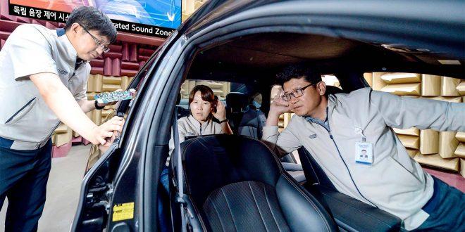 Snart kommer teknologi som lar alle høre sin egen musikk i bilen. (Foto: Hyundai)