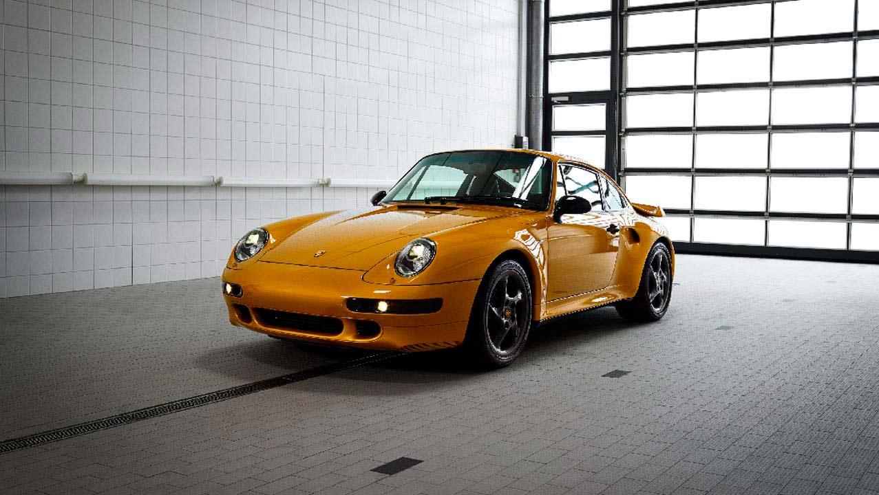 Slik ser en helt ny men også 20 år gammel modell ut. (Foto: Porsche)