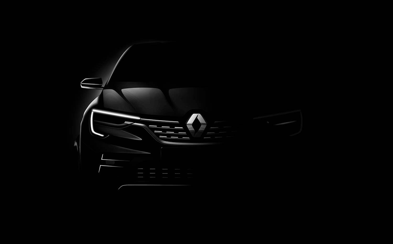 Her viser Renault oss litt av Arkana. (Foto: Renault)