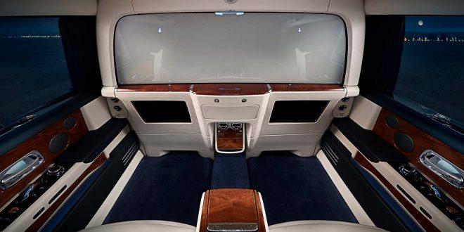 Ingen får vite hva som foregår bak i en Rolls-Royce Phantom. (Alle foto: Rolls-Royce)