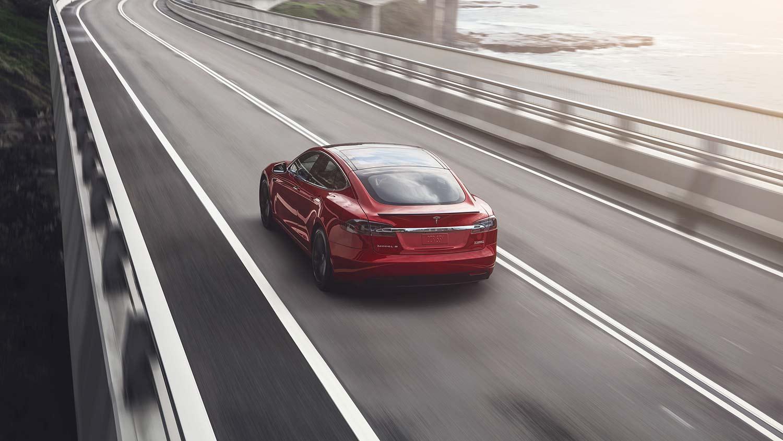 Det blir stadig flere Tesla Model S i Nederland. (Foto: Tesla)