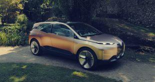 BMW viser fram den konseptmodellen Vision iNext. (Alle foto: BMW)