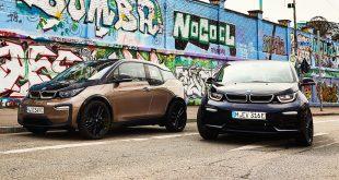 BMW i3 kommer nå med et nytt batteri som øker rekkevidden. (Alle foto: BMW)