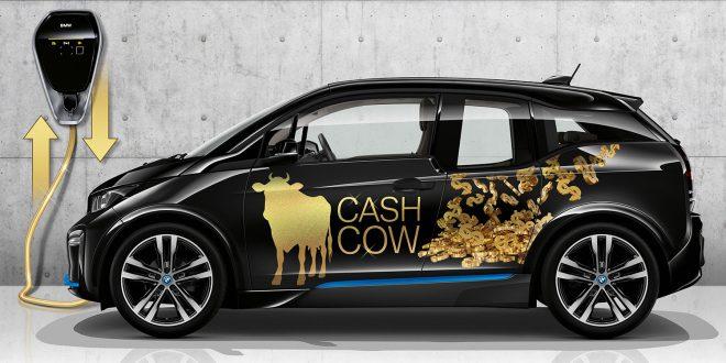 BMW utvikler en løsning som skal gjøre elbilene enda grønnere. (Foto: BMW)