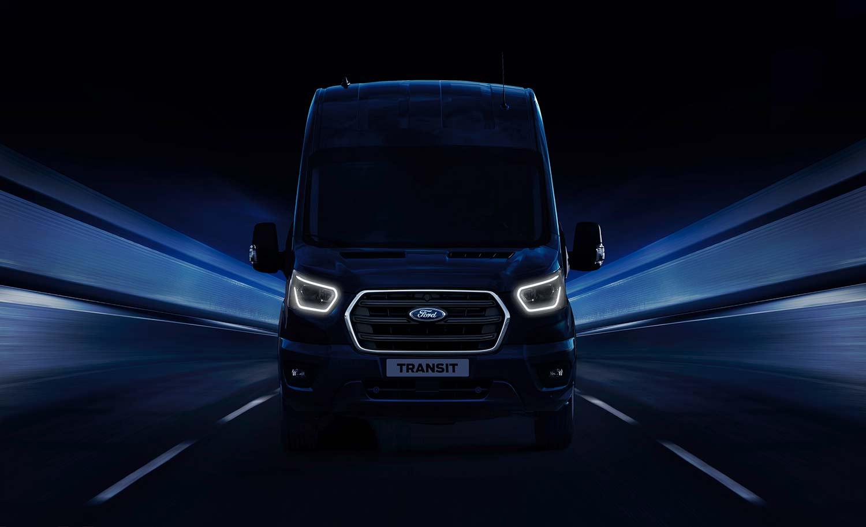 Dette er den nye Ford Transit. (Foto: Ford)