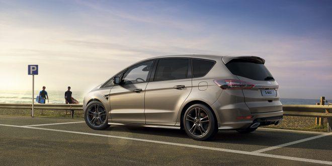 Ford gir den S-Max en ny dieselmotor som er langt mer effektiv enn tidligere. (Foto: Ford)