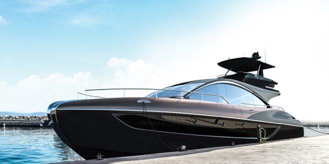 Dette er en ny luksus-yacht designet av Lexus. (Alle foto: Lexus)