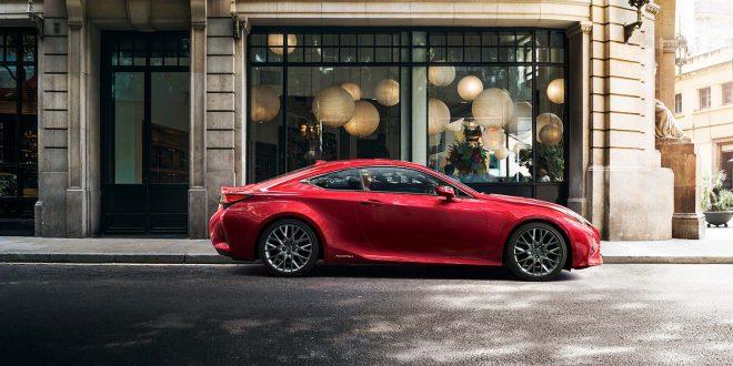 Lexus har mye nytt på gang, blant annet en ny RC. (Foto: Lexus)