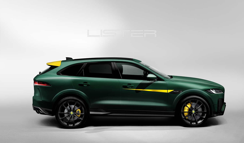 Dette er en ekstrem rask SUV basert på Jaguar F-Pace. (Foto: Lister)