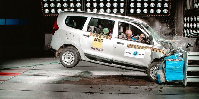 Renault Lodgy magler en viktig ting npr det kommer til sikkerhet. (Foto: Global NCAP)