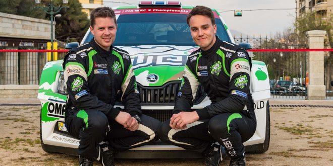 Ole Christian Veiby (t.h.) og Stig Rune Skjærmoen forlater Skoda, og neste stopp blir Citroën. (Begge foto: Skoda)
