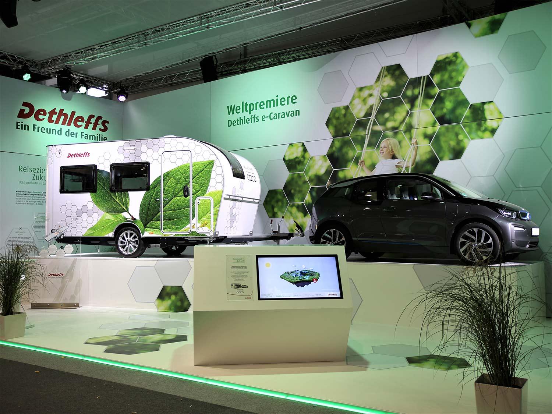 Dette er litt av en smart campingvogn. (Foto: Caravanbransjen)