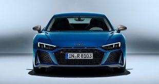 Audi R8 har blitt både sterkere og tøffere. (Alle foto: Audi)