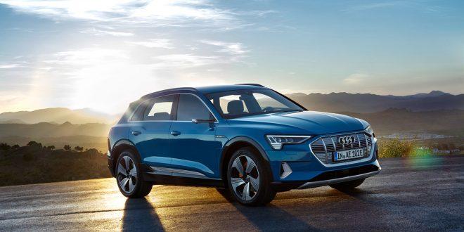 Audi e-tron vises i dag fram for norske journalister i Oslo, men nå virker det som at den blir forsinket ut til kundene. (Alle foto: Audi)