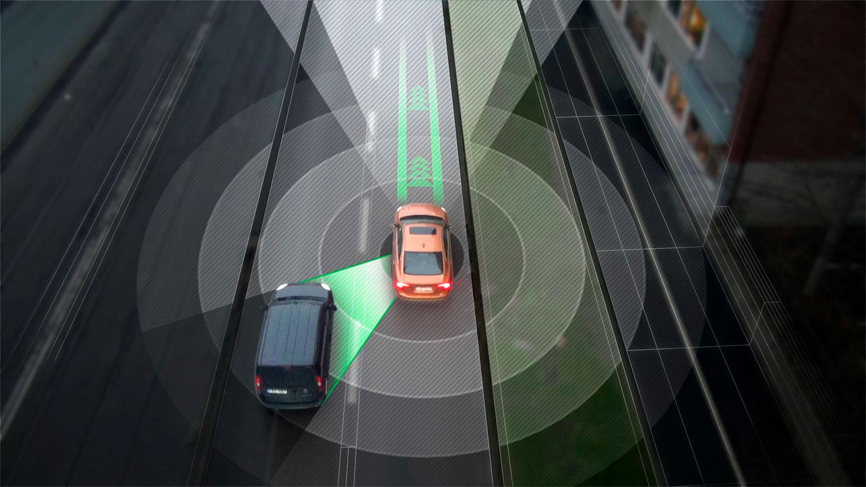 Slik ser Volvo for seg autopiloter. (Foto: Volvo)