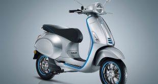 Her er en elektrisk Vespa. (Alle foto: Piaggio)