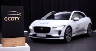 Denne bilen snappet prisen som årets bil foran de tyske merkene. (Alle foto: Jaguar)