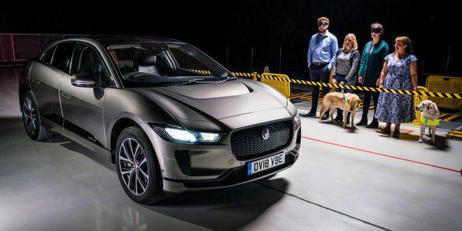 Jaguars elbil lager nå lyder når den kjører i lav fart. (Foto: Jaguar)