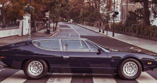 Lamborghini Espada kom på samme tid som Beatles gikk over dette fotgjengerfeltet. (Alle foto: Lamborghini)