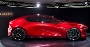 Mazda har vist fram en rekke lekre konseptmodeller, slik som Kai. Nå har de også en spennende elbil-løsning på gang. (Foto: Mazda)