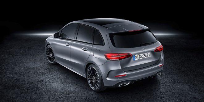 Mercedes kommer nå med ny B-klasse. (Alle foto: Mercedes)