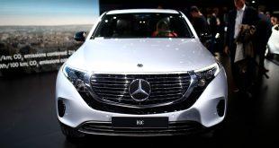 Kanskje vi får se en Mercedes-AMG-versjon av EQC i framtiden? (Alle foto: Mercedes)