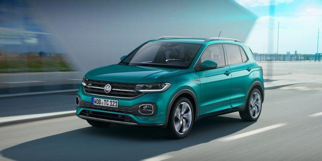 Volkswagen kommer med sin mest kompakte SUV-modell, T-Cross. (Alle foto: VW)