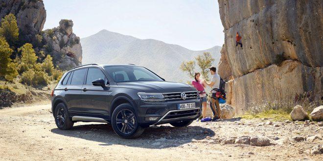 Volkswagen kommer nå med sin andre versjon av Tiguan, og denne gang handler det om terrenget. (Alle foto: Volkswagen)