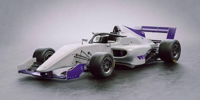 Slik ser bilen ut som kvinnene skal kjøre til neste år. (Foto: W-serien)