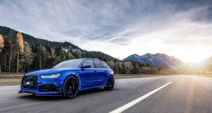 Det finnes kun en eneste bil som heter Audi ABT RS6+ Nogaro Edition. (Alle foto: ABT)