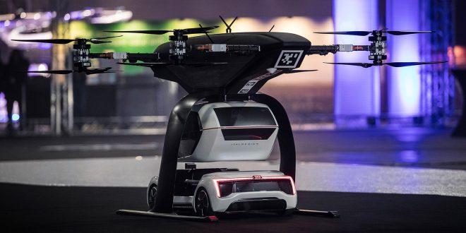 Audi vil fly med sine biler. (Alle foto: Audi)