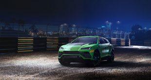 Lamborghini lanserer en ny racingserie som kombinerer asfalt og terrengkjøring, og en spesialversjon av Urus skal brukes. (Alle foto: Lamborghini)