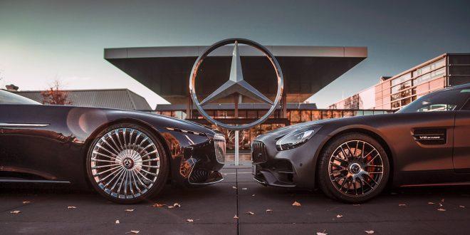 Mercedes har bikket en milliard likes på Instagram. (Begge foto: Mercedes)