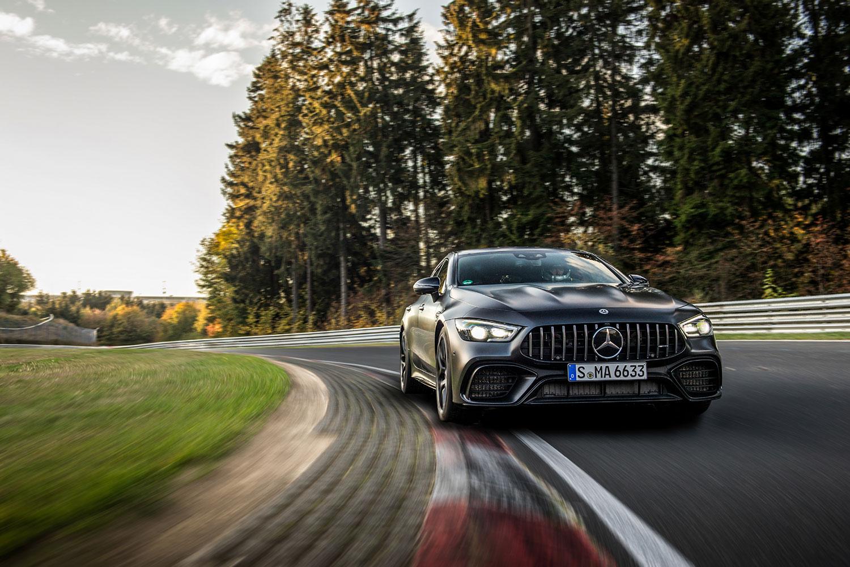 Dette er en imponerende bil. (Foto: Mercedes-Benz)