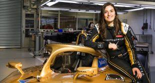 Tatiana Calderón har nylig fått sjansen til å teste en formel 1-bil, og skal nå og teste i formel E. (Foto: DS)