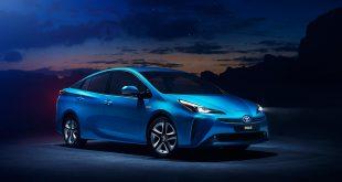 Nå kommer Toyota Prius med et nytt firehjulsdrift-system. (Alle foto: Toyota)