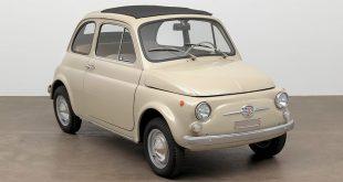 Fiat 500 skal stilles ut i New York. (Alle foto: Fiat)