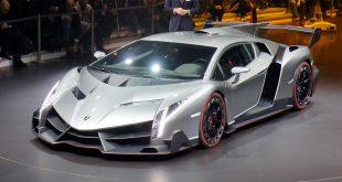 Dette er en av de dyreste bilene noensinne produsert, Lamborghini Veneno. (Alle foto: Newspress)