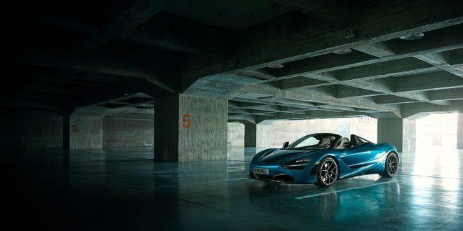 Her er McLarens aller nyeste modell, en toppløs 720S kalt Spider. (Alle foto: McLaren)