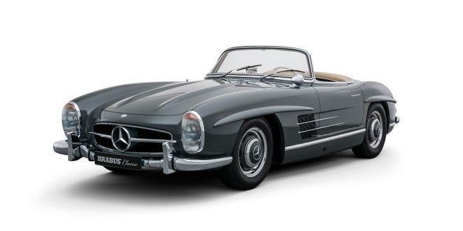 Sjekk denne da. Dette er faktisk en helt ny Mercedes 300 SL Roadster. (Alle foto: Brabus)
