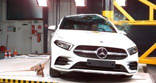 Dette er årets mest sikre bil, Mercedes-Benz A-klasse. (Alle foto: Euro NCAP)