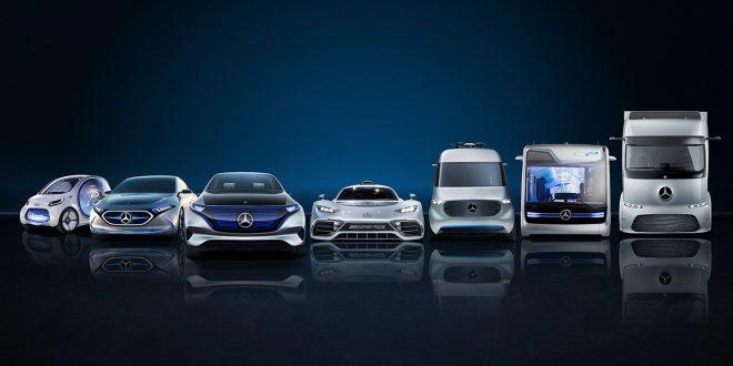 Dette er hva Daimler byr på i framtiden. (Begge foto: Daimler)