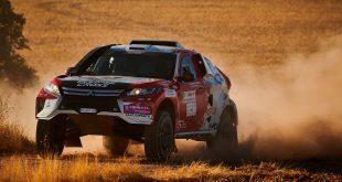 Mitsubishi skal delta på Dakar-rallyet som starter om en knapp måned. (Alle foto: Mitsubishi)