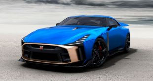 Dette kan vi like. En gullbil kalt Nissan GT-R50. (Alle foto: Nissan)